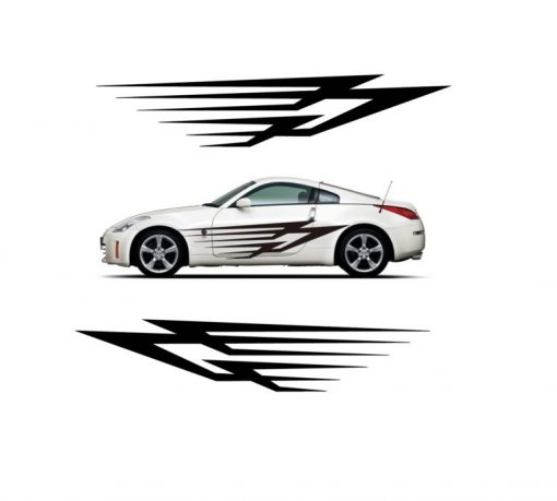 Body side panel graphics kit 60 x 13 a5