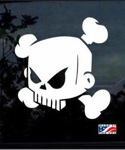 Hoonigan Skull Vinyl Decal Sticker