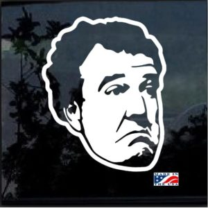 Jeremy Clarkson Top Gear Figure Decal Sticker