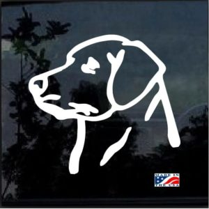 Lab Labrador Window Decal Sticker