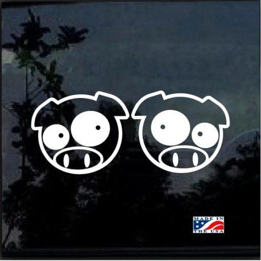 Rally Pigs Sticker Decal Vinyl Subaru JDM WRX STI