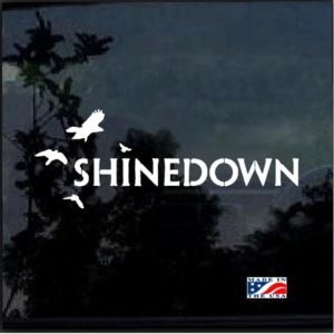 Shinedown Band Decal Sticker
