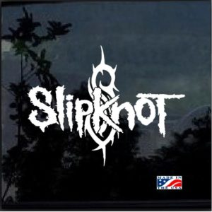 Slipknot Band Music Decal Sticker a4
