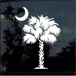 South Carolina Palmetto Tree Decal Sticker