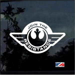 Star Wars Join the Resistance Symbol decal sticker