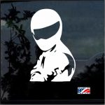 Stig Figure Top Gear JDM Car Window Decal Stickers