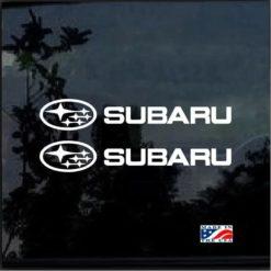 Subaru Logo Decal Sticker WRX STI Impreza Forester