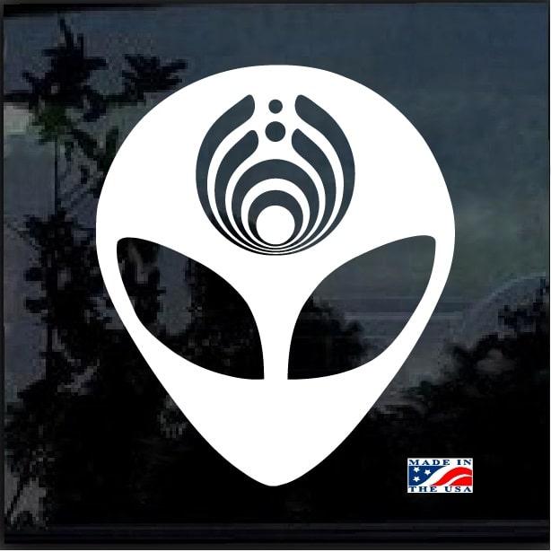 Bassnectar Alien Band Stickers Custom Sticker Shop