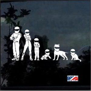 stig family decal sticker