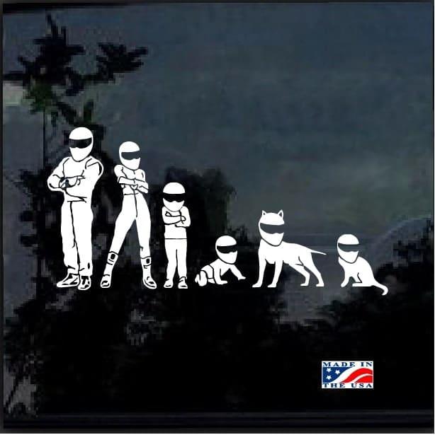 Stig Family Window Decal Sticker Custom Sticker Shop