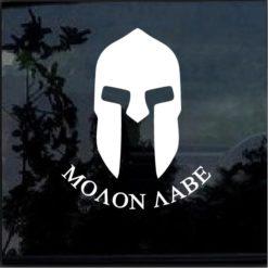 Molon labe spartan helmet a3