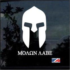 Molon Labe Spartan Helmet a4