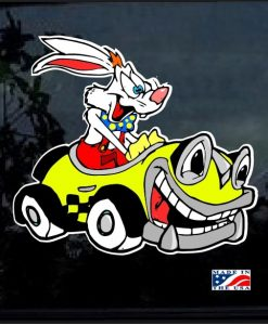 Roger Rabbit Joy Ride Full Color Decal Sticker