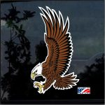 Bald Eagle Full Color Outdoor  Decal  - Cool Stickers