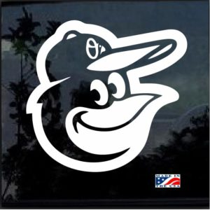 Baltimore Orioles Decal Sticker