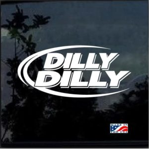 Dilly Dilly Beer Decal Sticker