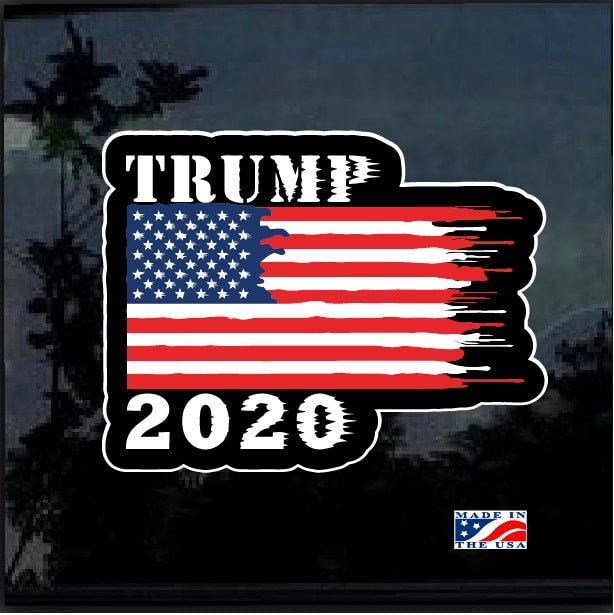 Trump Truck Donald Trump 2020 Full Color Decal Sticker