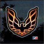 Pontiac Firebird Full Color Decal  - Cool Stickers