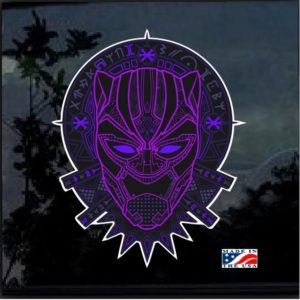 Marvel Black Panther Full Color Decal Sticker