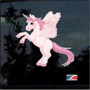 Pegasus Unicorn Full Color 7 Inch Decal Sticker