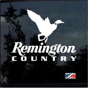 Remington Country Duck Hunter Decal Sticker