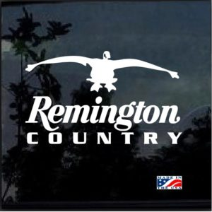 Remington Country Goose Geese Hunter Decal Sticker