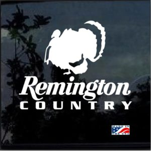 Remington Country Turkey Hunter Decal Sticker
