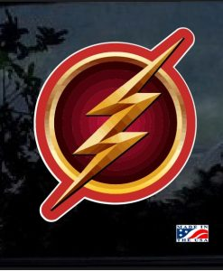 DC The Flash Full Color Decal Sticker