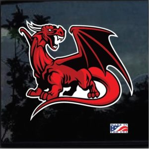Wales Red Dragon Full Color Outdoor Decal Sticker