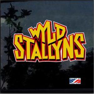 Wyld Stallyns Band Man Full Color Decal Sticker