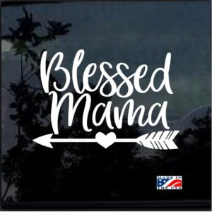 Blessed Mama Decal Sticker