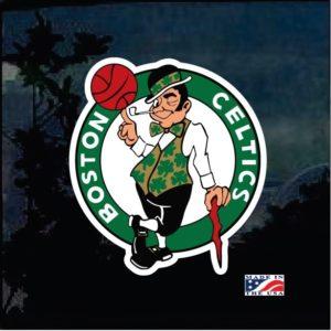 Boston Celtics Full color Decal Sticker