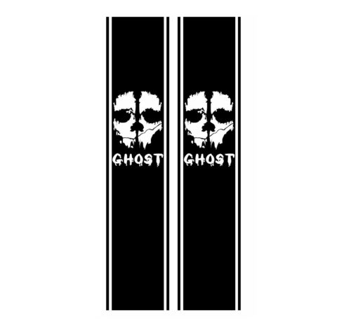 Call of Duty Ghost Truck Bedside stripes Decal set of 2