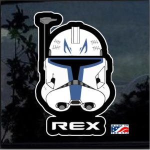 Captain Rex clone wars Full Color Decal Sticker