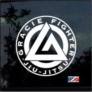 Circle Gracie Brarra Jiu Jitsu MMA Decal Graphic Sticker