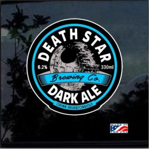 Death Star Dark Ale Full Color Decal