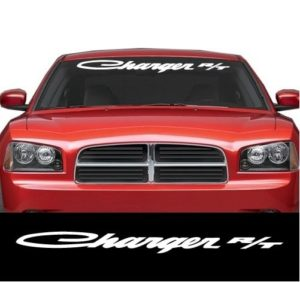 Dodge Charger RT Windshield banner Decal Sicker