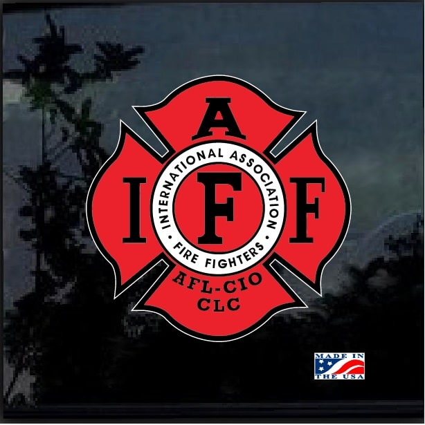 Fire Fighters International Association Iaff Full Color