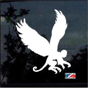 Flying Monkey Wizzard of Oz Window Decal Sticker