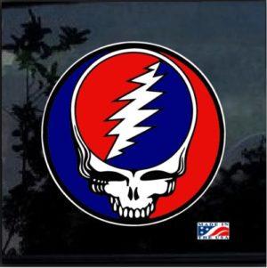 Grateful Dead full color decal sticker