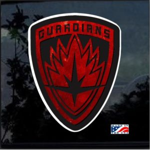 Guardians of the Galaxy Full Color Decal Sticker
