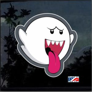 Mario Brothers Ghost Full Color Decal Sticker