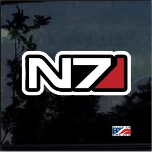 Mass N Effect N7 Full Color Decal Sticker