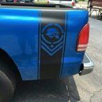 Metal Mulisha Bars Truck Stripe Sticker Set of 2 - Truck Decals