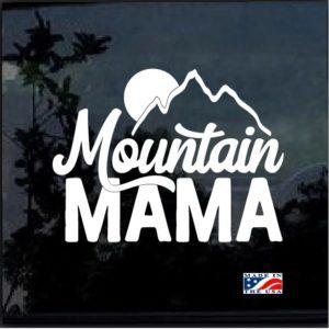 Mountain Mama Decal Sticker