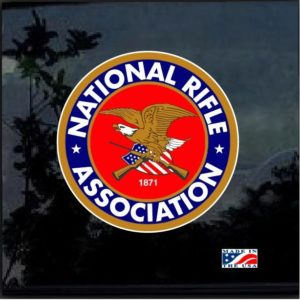 NRA Full Color Decal Sticker