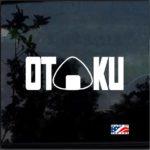 OTAKU anime manga pride Window Decal Sticker