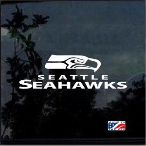 Seattle Seahawks Window Decal Sticker
