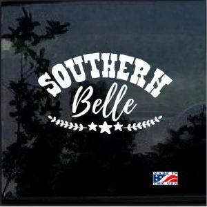 Southern Belle Window Decal Sticker