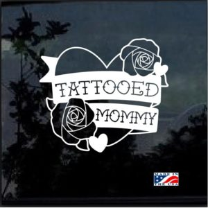 Tattooed Mommy Decal Sticker
